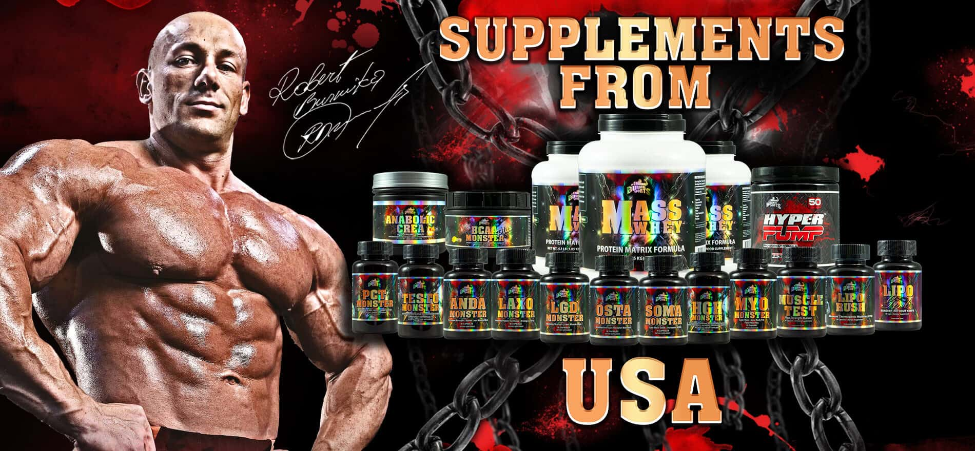 Supplements from USA