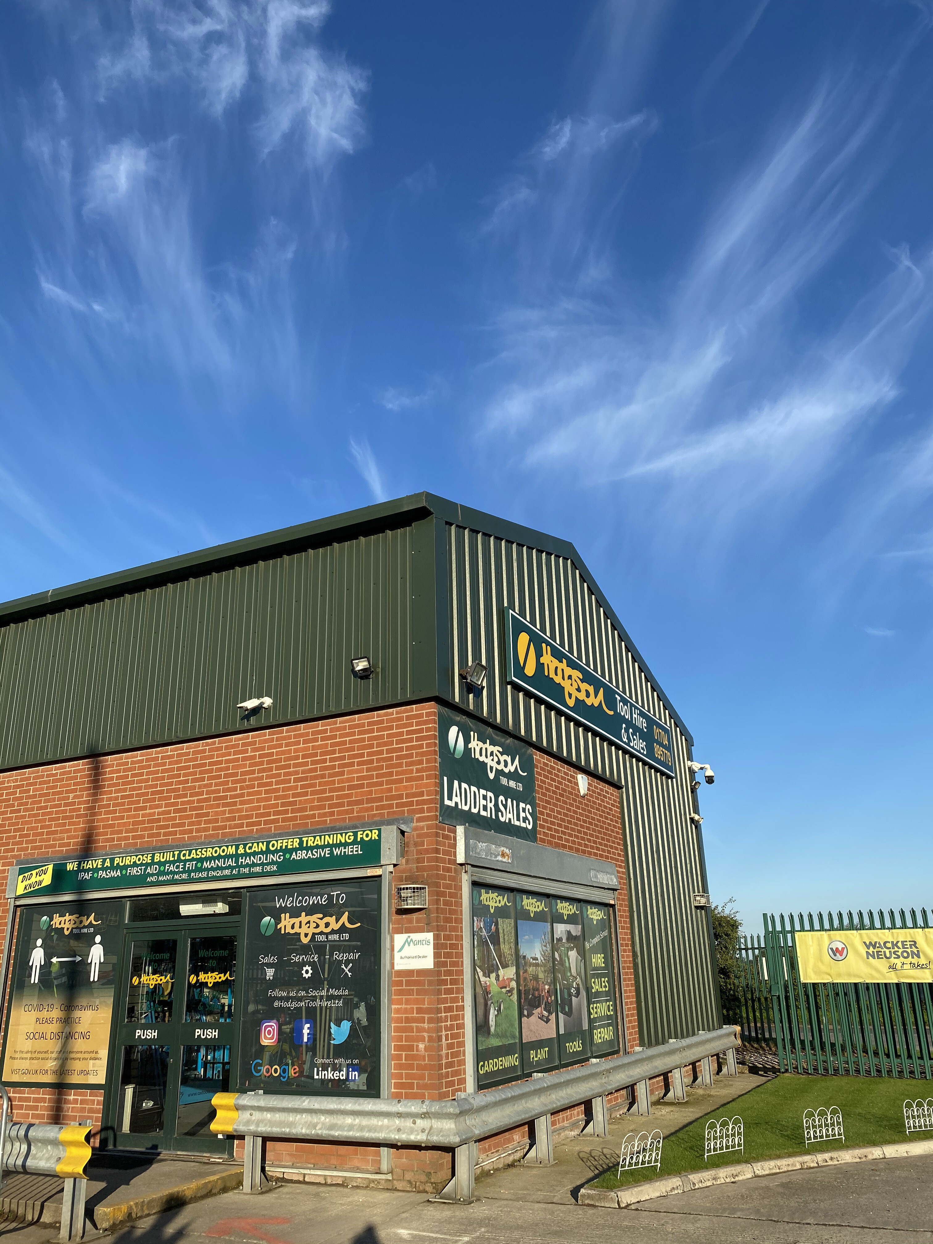 Welcome to Hodgson Tool Hire Ltd