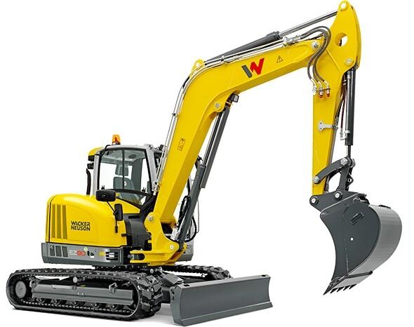 8 Tonne Compact Digger / Excavator