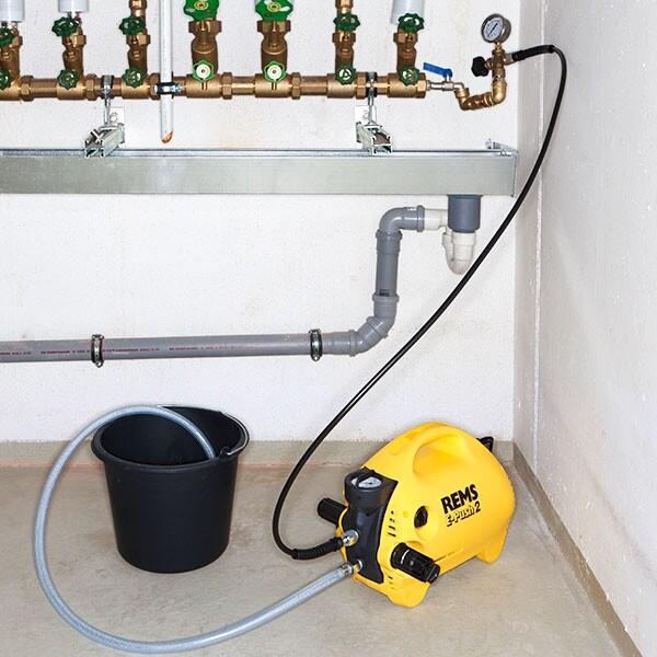 REMS E-Push 2 Electric Pressure Testing Pump