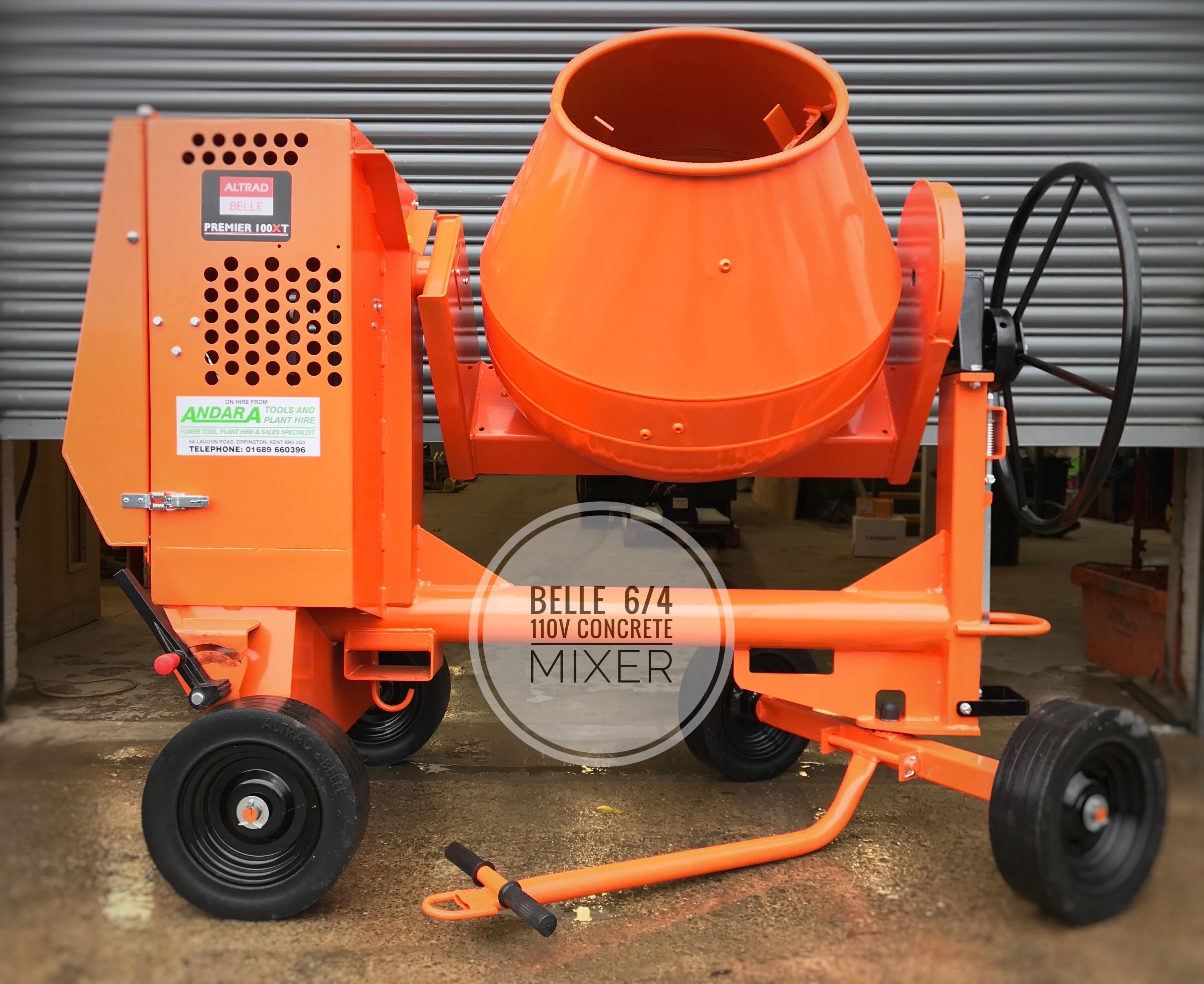 5/3.5 Electric Concrete Mixer