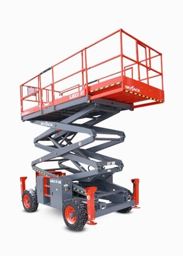 31ft Rough Terrain Scissor Lift