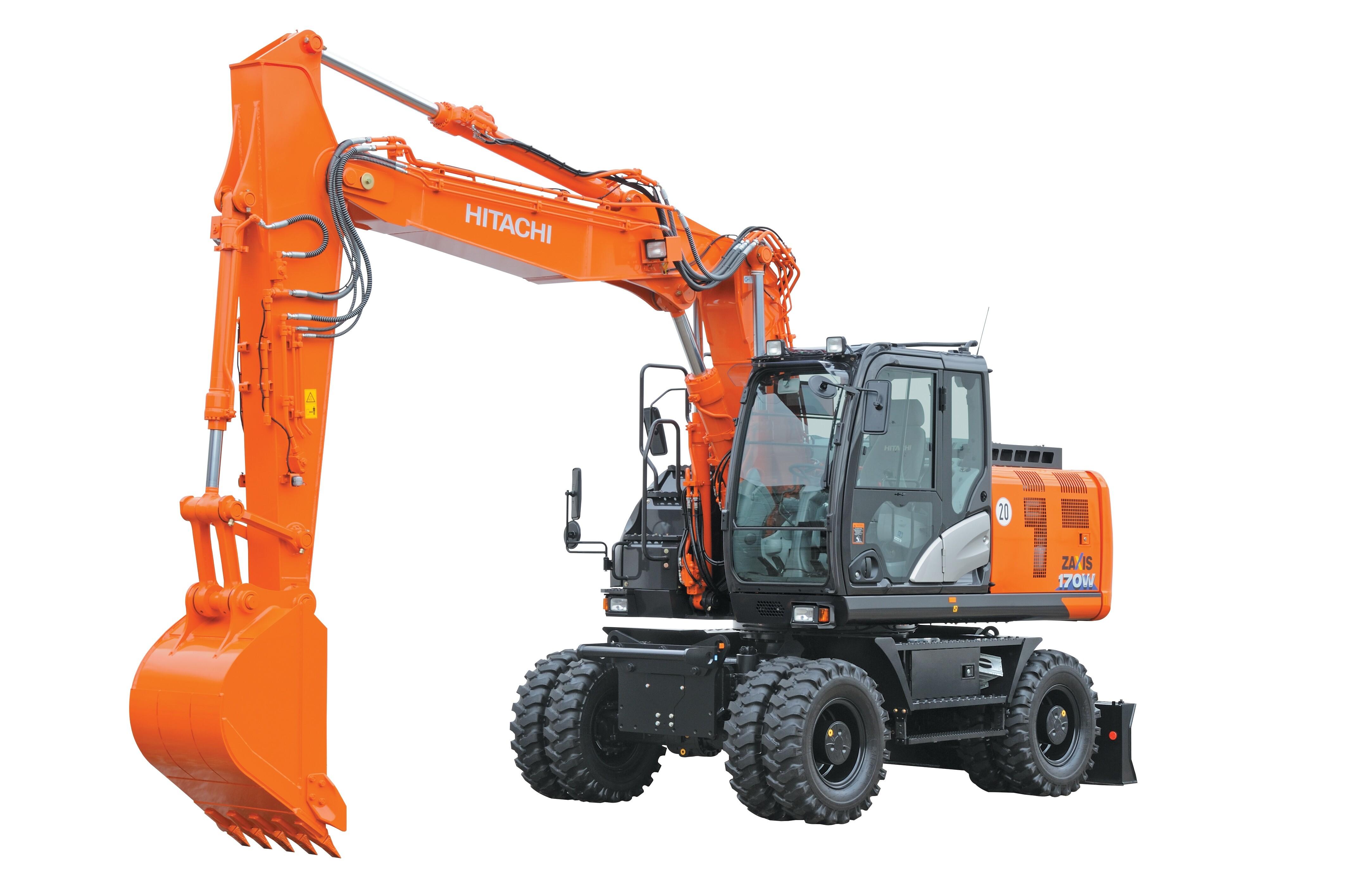 17 Tonne Wheeled Excavator