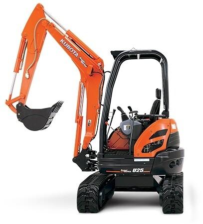 2.5 Tonne Mini Excavator