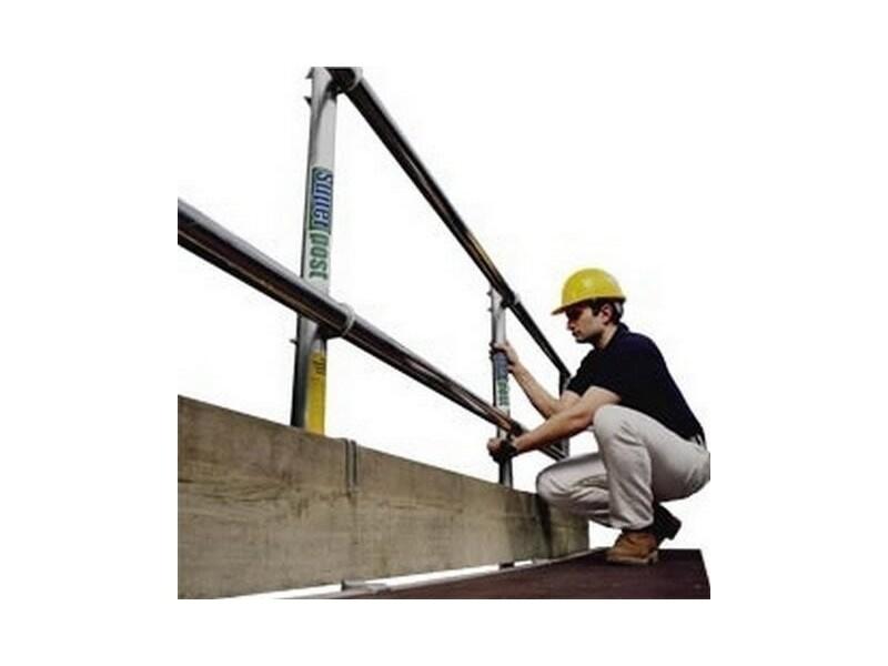 Lightweight Staging Handrails per metre