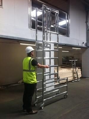 Podium Steps Up to 2m Platform Height