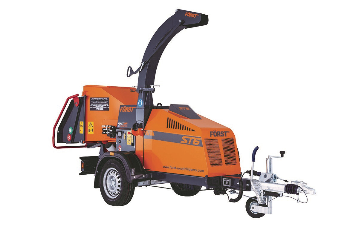 Towable Diesel Chipper