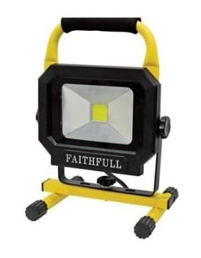 Site LED Carry Light 20W 1800 Lumen 110V