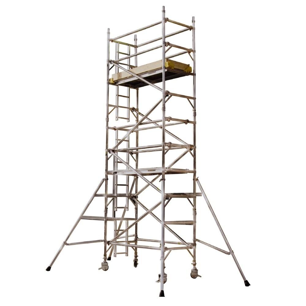 Aluminium Mobile Access Tower - 0.85m Wide x 2.5m Long