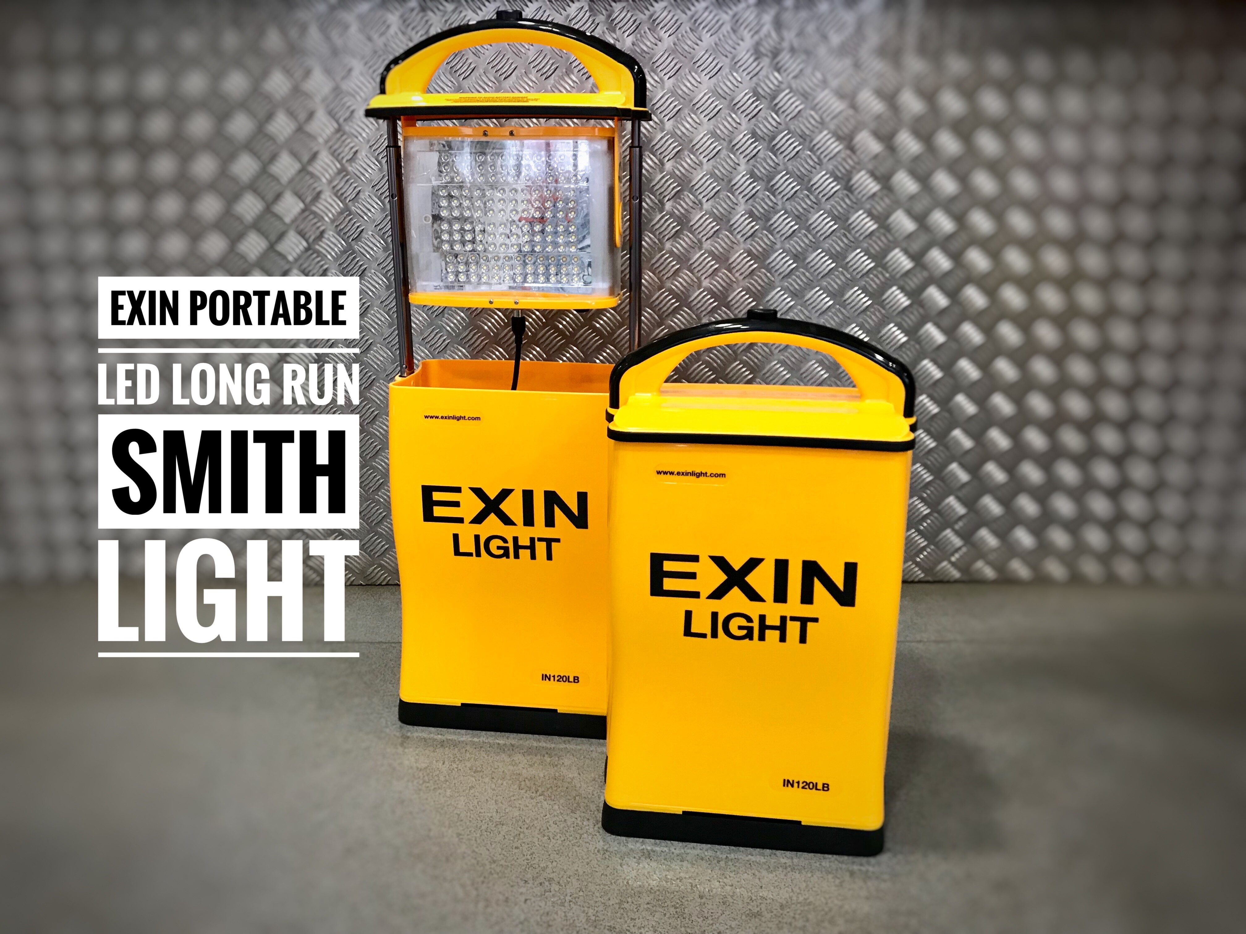 EXIN LED IN120L BATTERY DOUBLE SIDED LIGHT