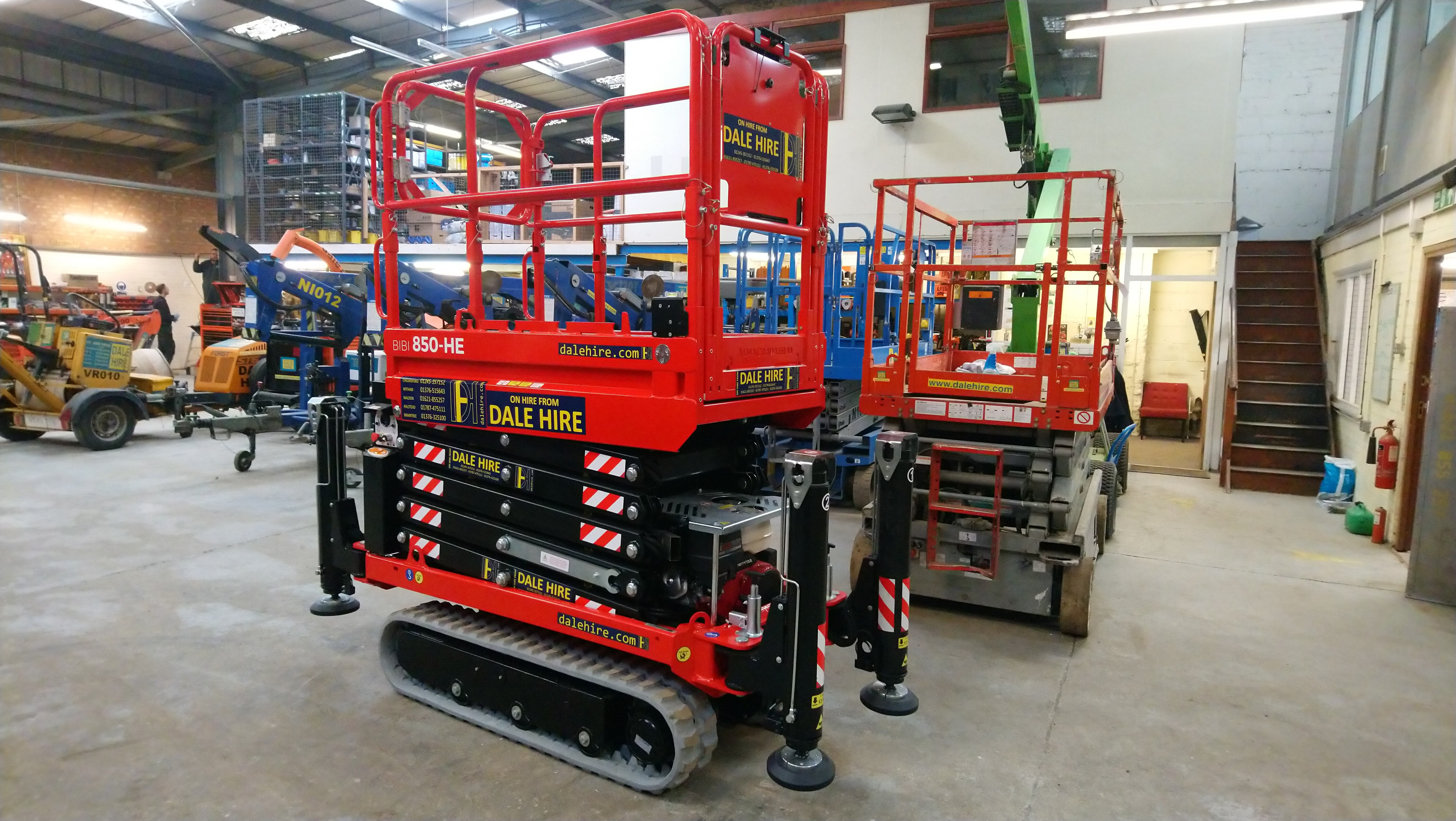 Tracked Scissor Lift Bi-level Bibi 850-HE