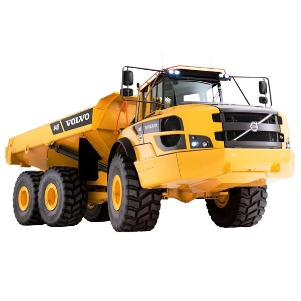 40 Ton Articulated Dumper