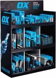 OX Tall Counter Top Display Unit