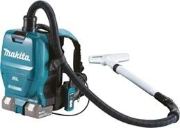 Makita Vacuum Cleaner Cordless 2x18V Battery