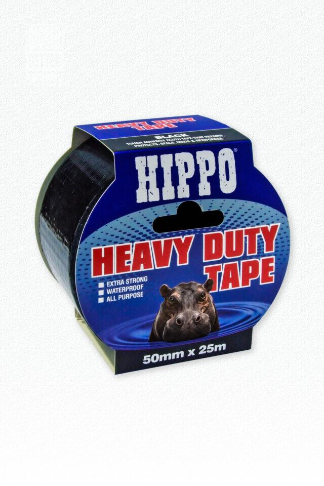 HD Tape Black Twin 50mm x 50m