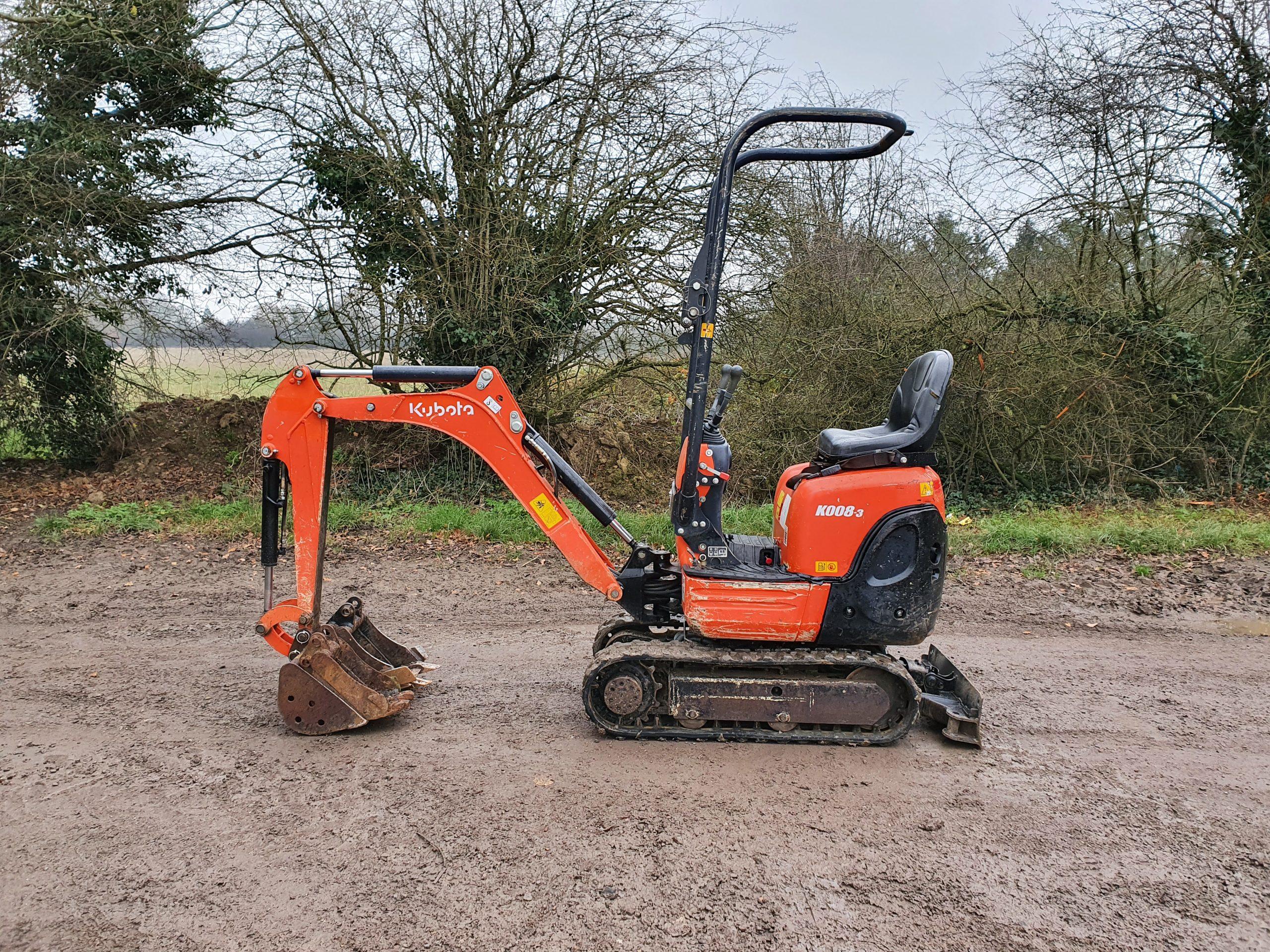 0.8 Ton Micro Excavator