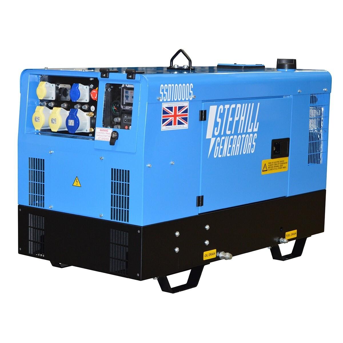 10.0 kVa Super Silenced Generator (Diesel)