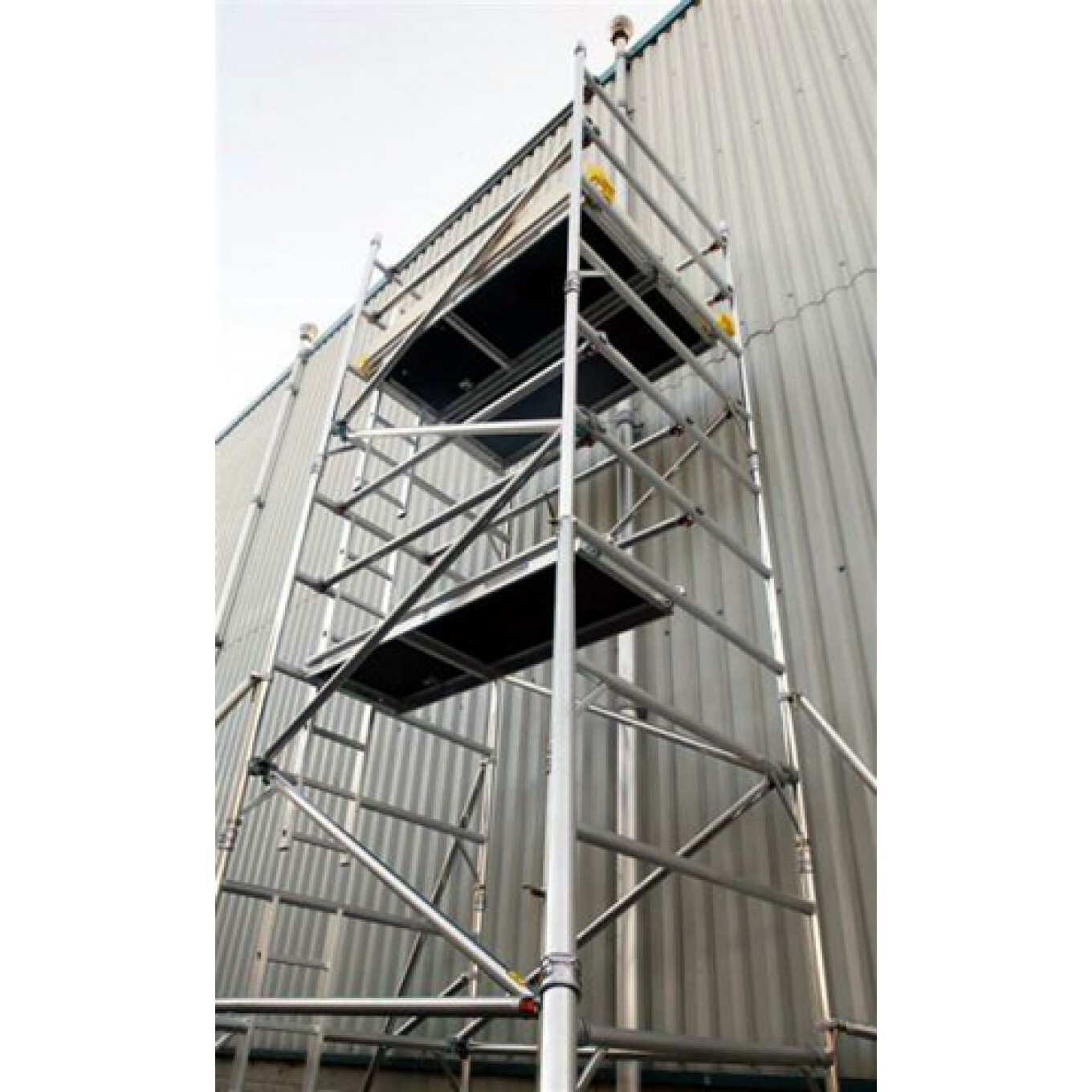 Mobile Aluminium Access Tower. 1450mm wide. (Double Width).