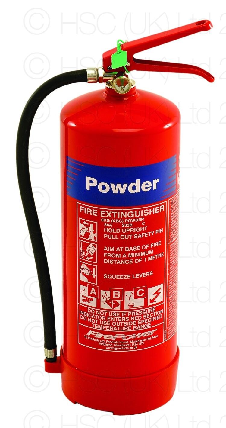 Fire Extinguisher Powder 9Kg £35.00