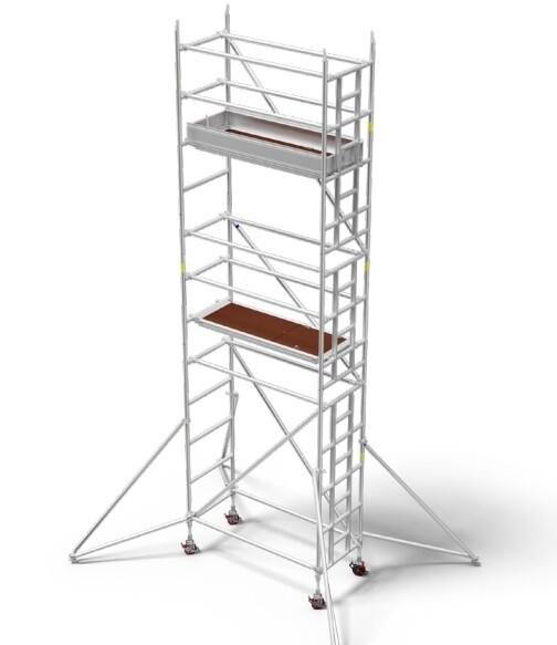 12.4m - Single Width Scaffold Tower