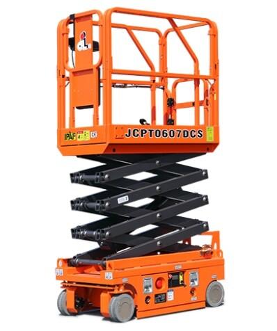 13ft Compact Scissor Lift c/w push out platform