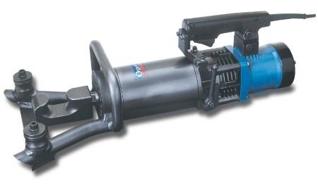 Electro-Hydraulic Portable Rebar Bender