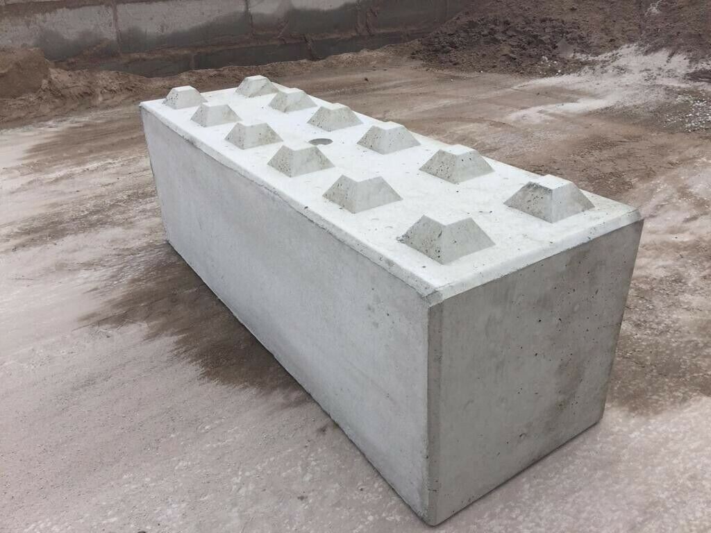160cm x 60cm x 60cm Concrete Blocks Moulds