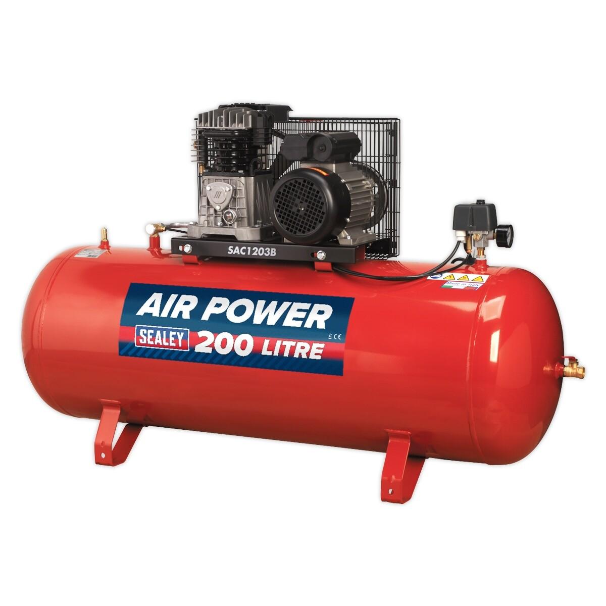 200L Heavy Duty Air Compressor