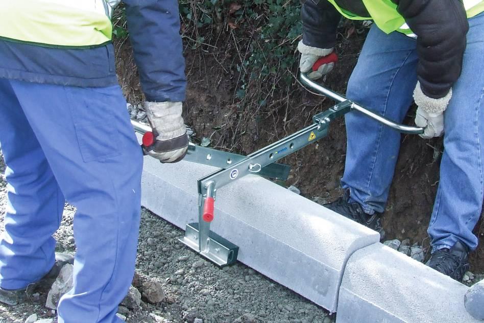 Universal Handle Manual Kerb / Stone Lifter