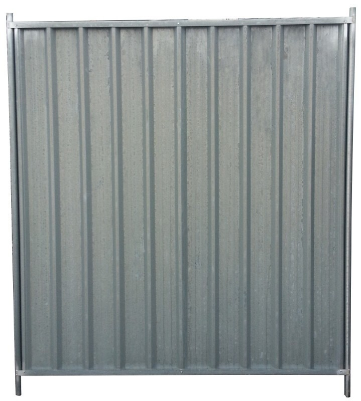 Corrugated Security Fence Panel