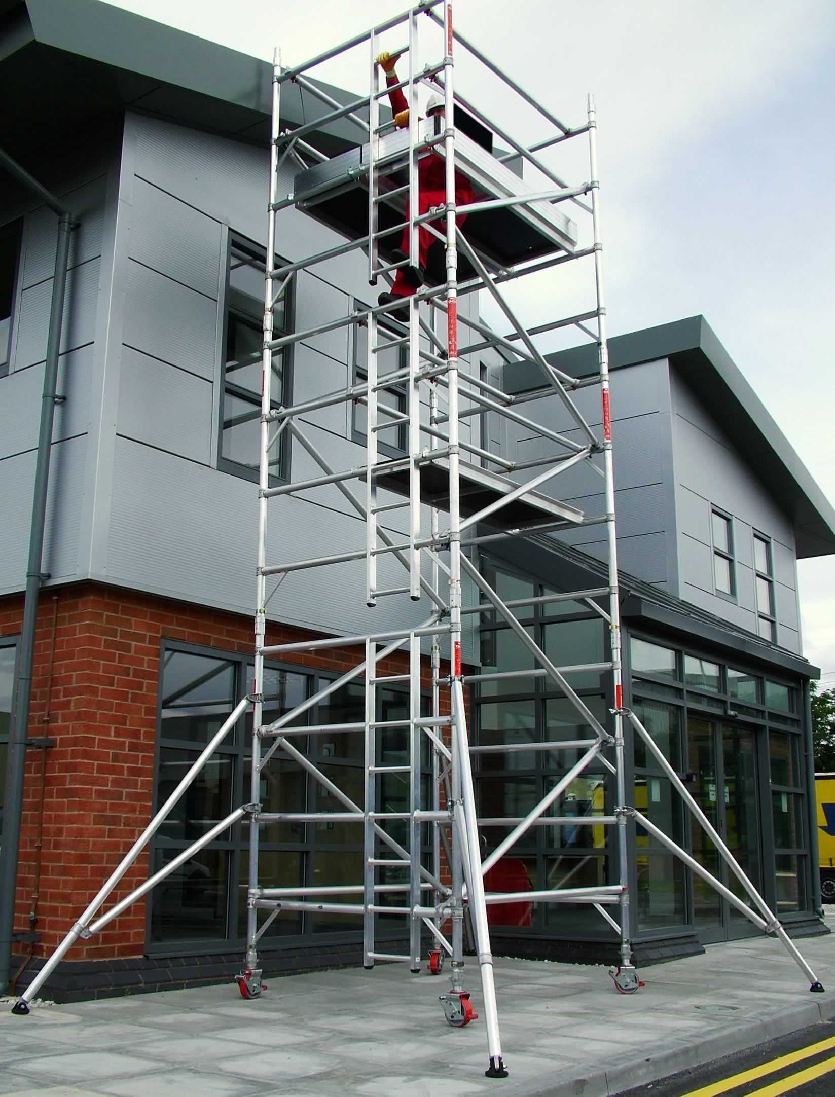 Aluminium Mobile Access Tower - 1.6M Wide - Various Sizes
