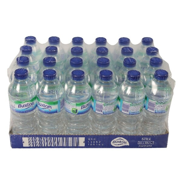 500ml Water Bottles 24 Pack £12.75