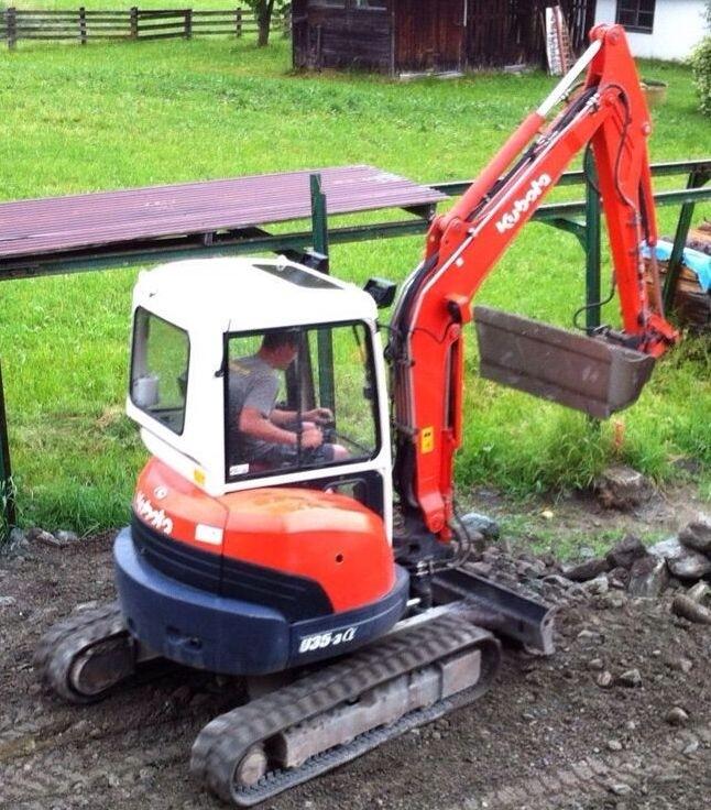 3.6t Tonne Mini Excavator