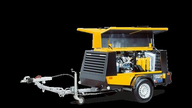Domac Hire - M80 250CFM Portable Diesel Compressor