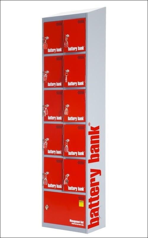 Battery Bank - Charging Station - Charging Locker - Power Tool Locker - 11 Door