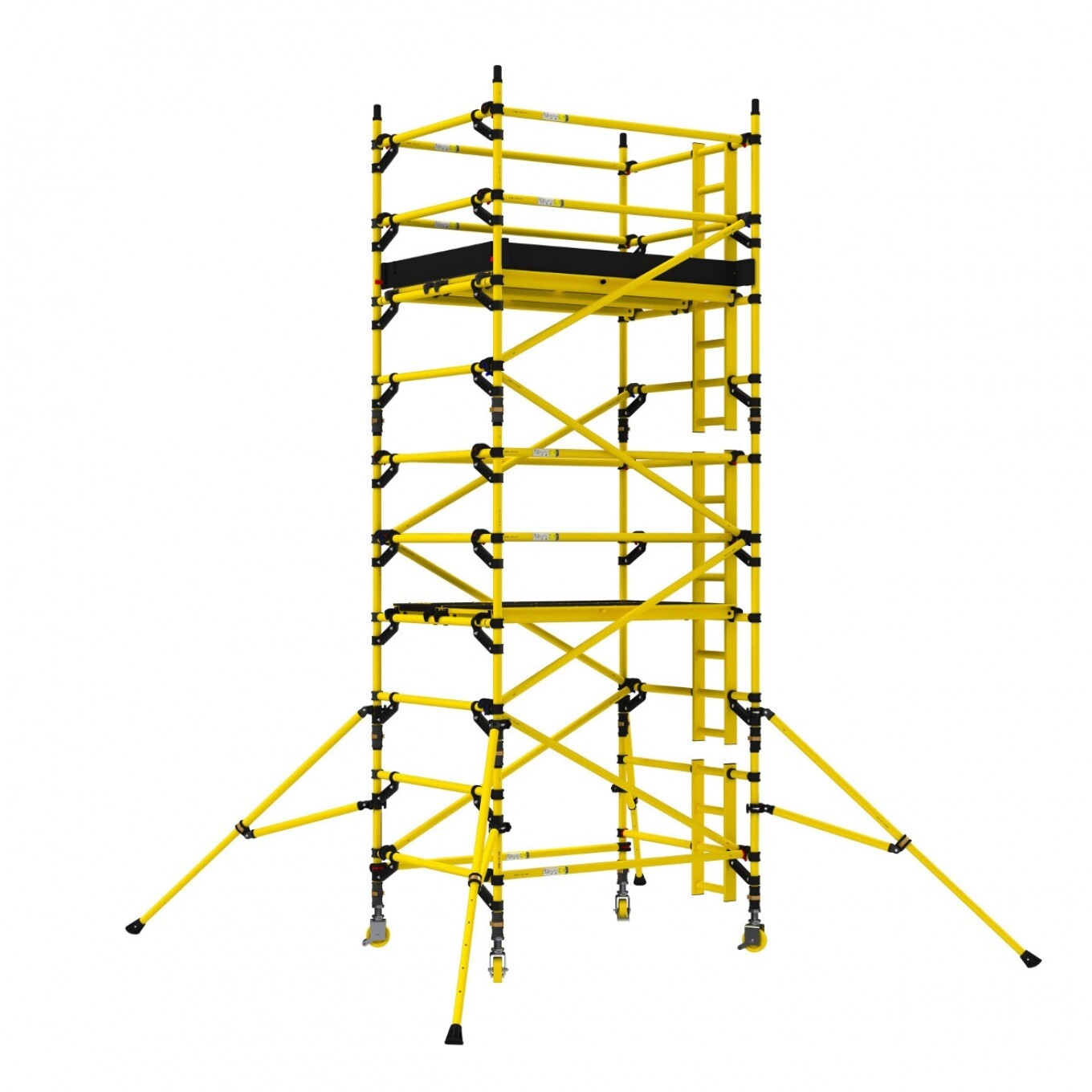 Double Width Mobile Access Towers - 1.45m Wide x 1.8m Long