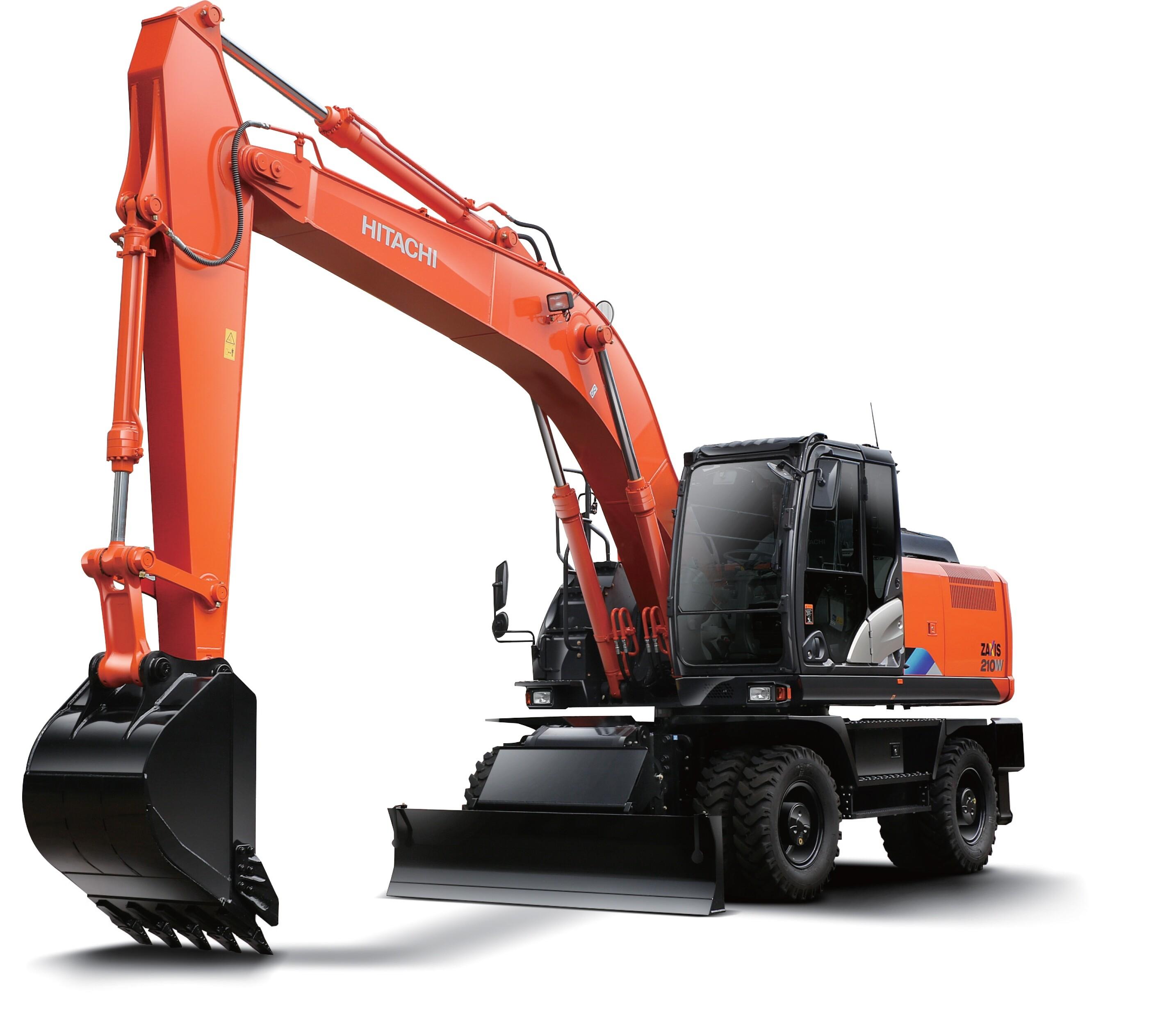 20 Tonne Wheeled Excavator