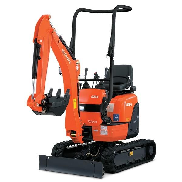 Kubota 1.1 Tonne Micro Digger/Excavator