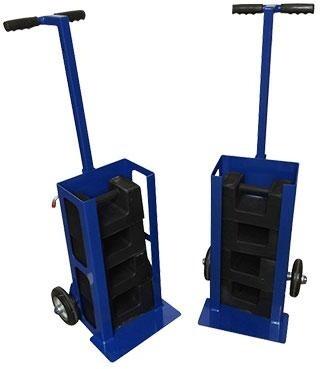 Hybrid Stair Climbing Test Weight Trolley