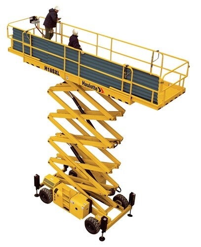 18m Rough Terrain Scissor Lift