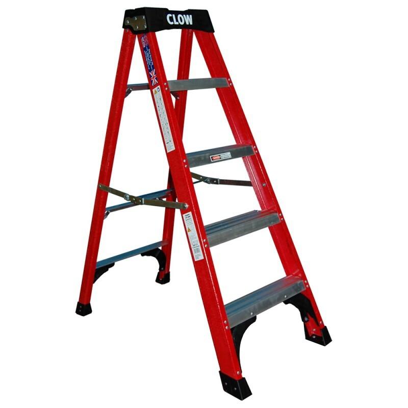 Fibre Glass Swingback Step Ladder - Various Sizes