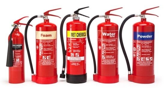 Fire Extinguishers - Various