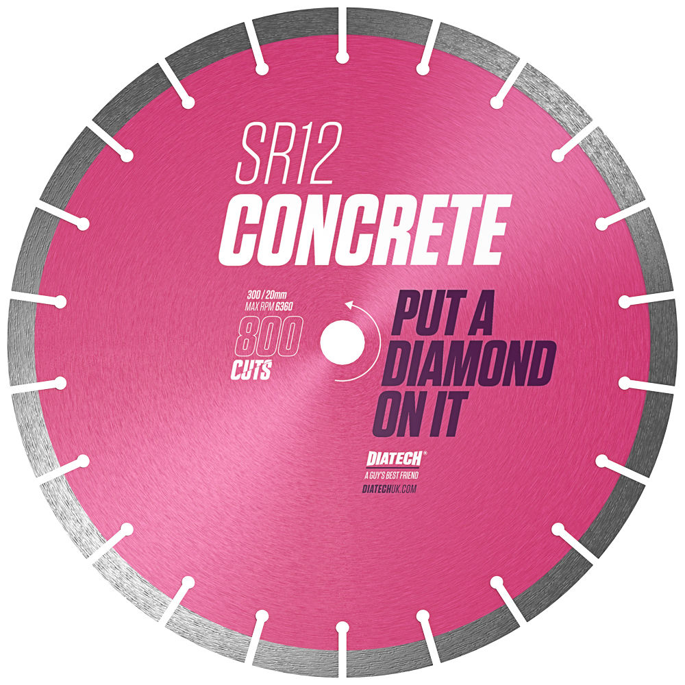 SR12 Concrete Diamond Blade 115/22