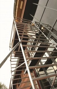 Boss Clima Double Scaffold Tower