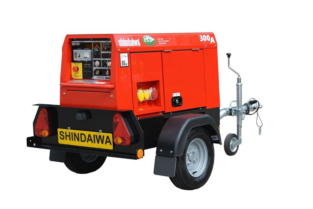 ECO 300/UK Welder Generator