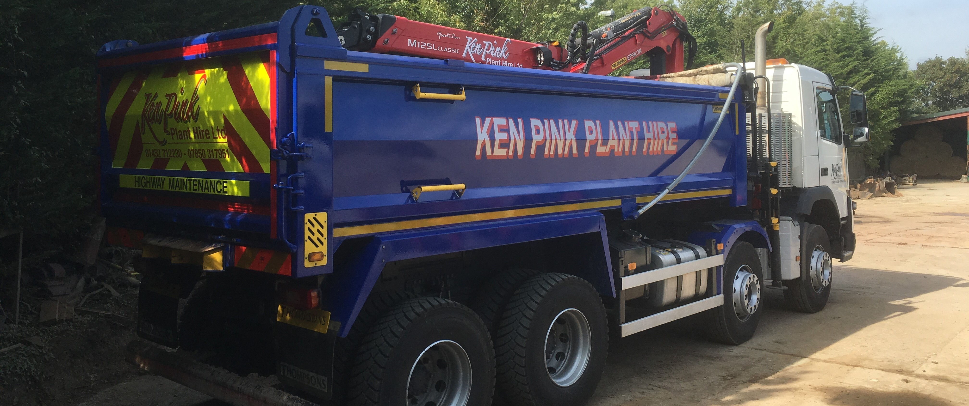 8x4 Grab lorry 32 ton