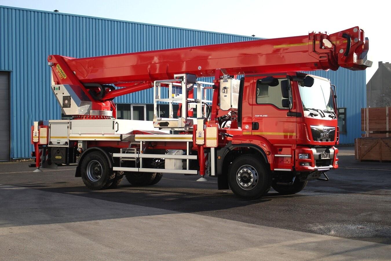 48m Truck Mounted Platform