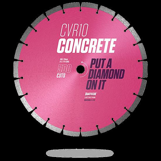 CVR10 Concrete Diamond Blade 300/20