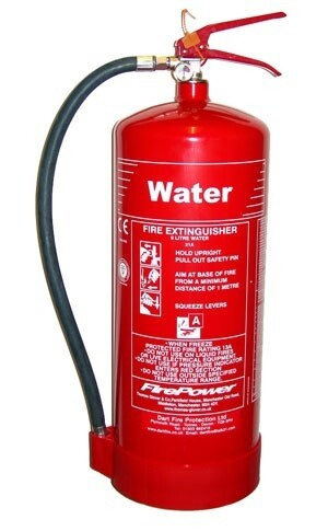 Fire Extinguisher 9Ltr Water £29.00