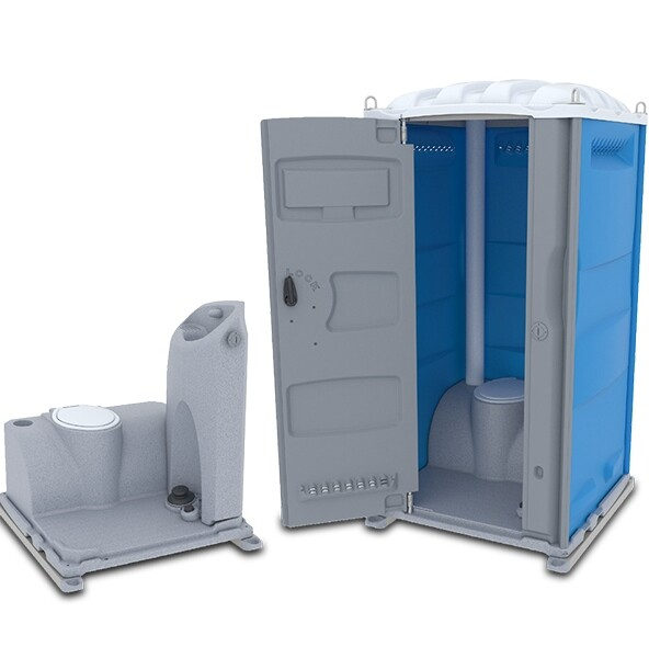 Portable Toilet with Sink (Hot Water Supply)
